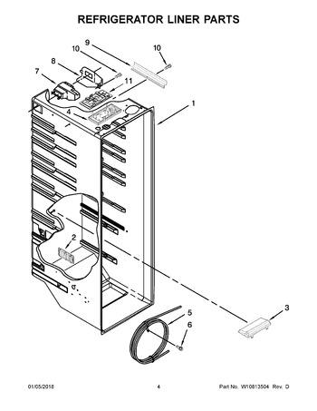 Wrs325fdam04 Appliance Parts Hq