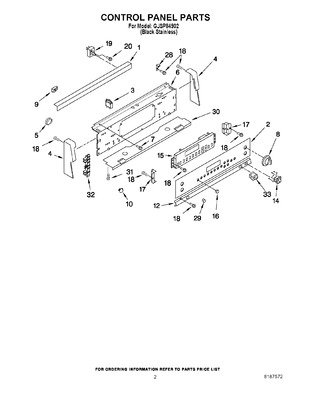 9750643 : whirlpool range surface element switch | appliance parts on  whirlpool appliances wiring-diagram