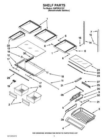 Gi6fdrxxy07 Appliance Parts Hq