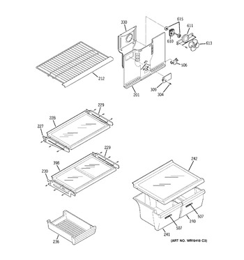 Parts For Frigidaire Frs24bggb2 furthermore 1387975 likewise Ge Bss25jftnww Refrigerator Defrost Heater And Bracket Assembly Genuine Oem besides Parts For Ge Ff20dxcrwh additionally Ac Condenser Parts Diagram. on ge refrigerator capacitor