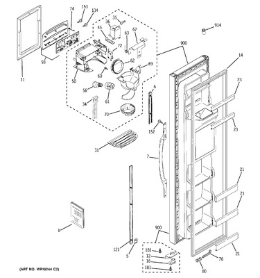 Kitchenaid superba wiring diagram kitchenaid free engine image for user manual download - Kitchenaid superba microwave parts ...
