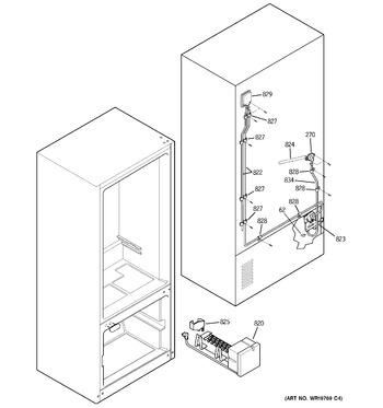PDS22SFSBRSS Ge Refrigerator Wiring Diagram Model Pds Sfsbrss on
