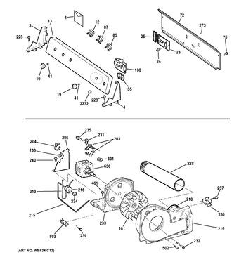 GTDP490ED2WS Ge Dryer Wiring Diagram We M on