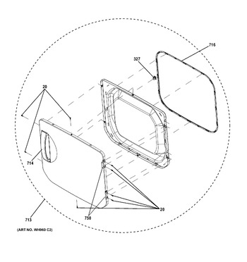 2661532210 appliance parts hq Kenmore Model 110 Washing Machine diagram for 2661532210