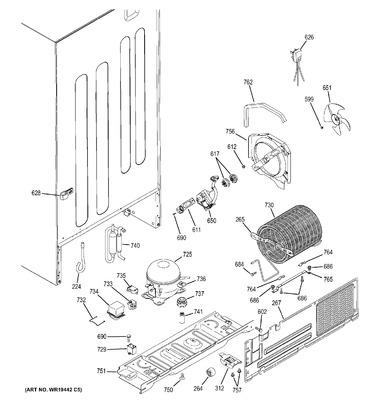 WG03F02265 : GE Refrigerator Start Relay on