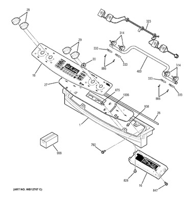 ge profile oven wiring diagram wg02f02757 : ge range spark ignition switch & harness ...