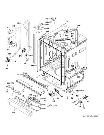 Gdt580smf8es Appliance Parts Hq