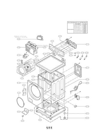 WM2101HW   Wm2101hw Drain Pump Wire Diagram      Appliance Parts HQ