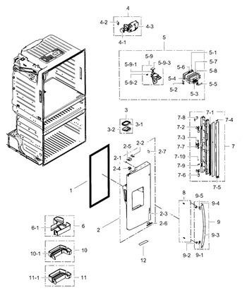 rf4287hars xaa 0002. Black Bedroom Furniture Sets. Home Design Ideas