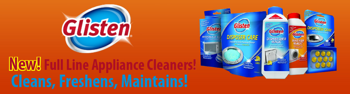 New! Full line of Appliance Cleaners. Cleans, Freshens, and Maintains