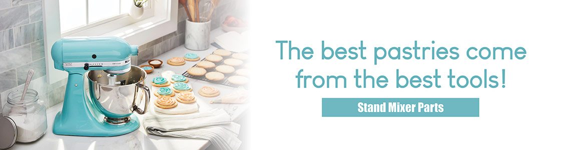 The best pastries come from the best tools! Shop Stand Mixer Parts