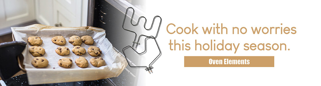 Cook with no worries this holiday season - Shop Oven Elements