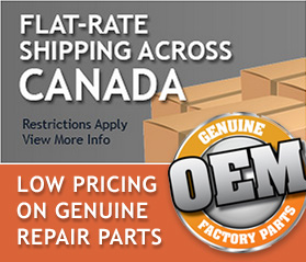 All Orders $10.99 Flat-Rate Shipping - Low Pricing on Genuine Repair Parts