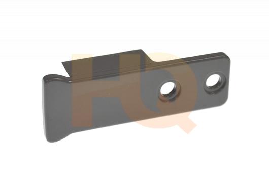 W10917049 : Whirlpool Refrigerator Door Handle End Cap, Grey ... on