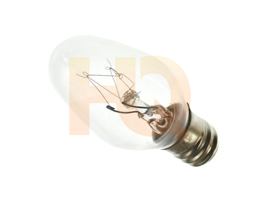 WP22002263 : Whirlpool Dryer Light Bulb, 10W on